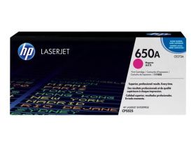 HP ORIGINAL - HP 650A / CE273A Magenta (15000 pages) Toner de marque