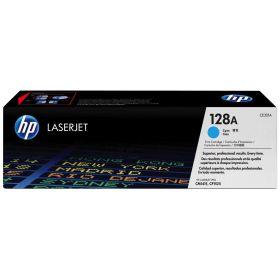 HP ORIGINAL - HP 128A / CE-321A Cyan (1300 pages) Toner de marque