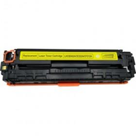 COMPATIBLE HP - 128A / CE-322A Jaune (1300 pages) Toner générique