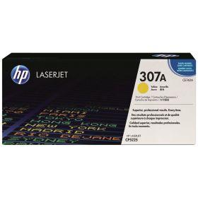 HP ORIGINAL - HP 307A / CE742A Jaune (7300 pages) Toner de marque