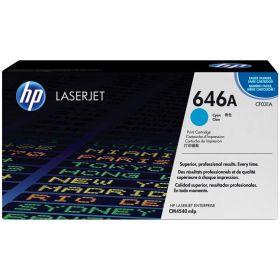 HP ORIGINAL - HP 646A / CF031A Cyan (12500 pages) Toner de marque