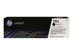 HP ORIGINAL - HP 131A / CF210A Noir (1600 pages) Toner de marque