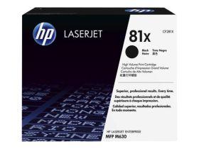 HP ORIGINAL - HP 81X / CF-281X Noir (25000 pages) Toner de marque