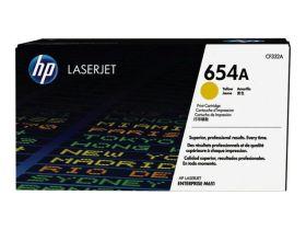 HP ORIGINAL - HP 654A / CF-332A Jaune (15000 pages) Toner de marque
