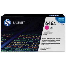 HP ORIGINAL - HP 646A / CF033A Magenta (12500 pages) Toner de marque