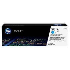HP ORIGINAL - HP 201A / CF-401A Cyan (1400 pages) Toner de marque