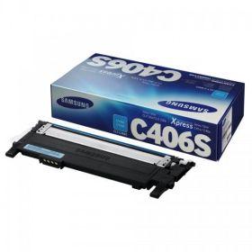 SAMSUNG ORIGINAL - Samsung C406S Cyan (1000 pages) Toner de marque