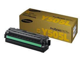 SAMSUNG ORIGINAL - Samsung Y505L Jaune (3500 pages) Toner de marque