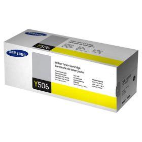 SAMSUNG ORIGINAL - Samsung Y506S Jaune (1500 pages) Toner de marque