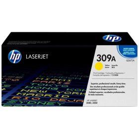 HP ORIGINAL - HP 309A / Q2672A Jaune (4000 pages) Toner de marque