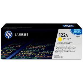 HP ORIGINAL - HP 122A / Q3962A Jaune (4000 pages) Toner de marque