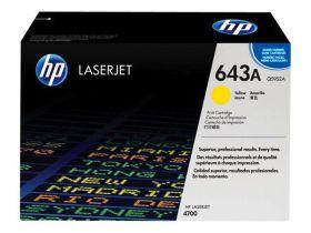 HP ORIGINAL - HP 643A / Q5952A Jaune (10000 pages) Toner de marque