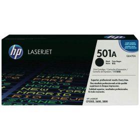 HP ORIGINAL - HP 501A / Q6470A Noir (6000 pages) Toner de marque