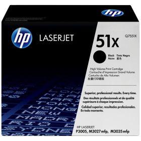HP ORIGINAL - HP 51X / Q7551X Noir (13000 pages) Toner de marque