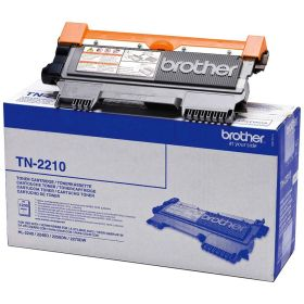 BROTHER ORIGINAL - Brother TN-2210 Noir (1200 pages) Toner de marque