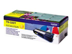 BROTHER ORIGINAL - Brother TN-320 Jaune (1500 pages) Toner de marque