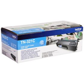 BROTHER ORIGINAL - Brother TN-321 Cyan (1500 pages) Toner de marque