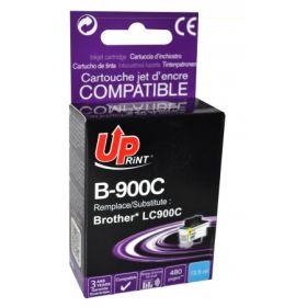UPRINT/ QUALITE PREMIUM - UPrint LC-900 Cyan (13,5 ml) Cartouche encre générique Brother Qualité Premium