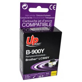 UPRINT/ QUALITE PREMIUM - UPrint LC-900 Jaune (13,5 ml) Cartouche encre générique Brother Qualité Premium