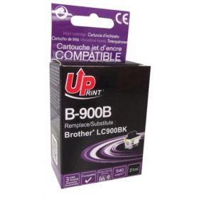 UPRINT/ QUALITE PREMIUM - UPrint LC-900 Noire (21 ml) Cartouche encre générique Brother Qualité Premium