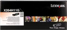 LEXMARK ORIGINAL - Lexmark X264H11G Noir (9000 pages) Toner de marque