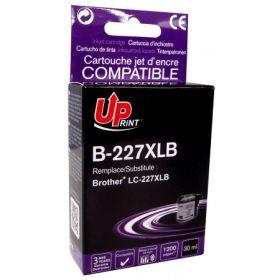 UPRINT - UPrint LC-227 XL Noire (1200 pages) Cartouche compatible Brother Qualité Premium