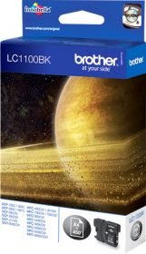 BROTHER ORIGINAL - Brother LC-1100 Noire (12,1ml) Cartouche de marque