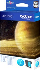 BROTHER ORIGINAL - Brother LC-1100 Cyan (5,5ml) Cartouche de marque