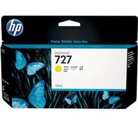 HP ORIGINAL - HP 727 / B3P21 Jaune (130 ml) Cartouche de marque