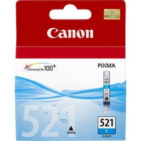 CANON ORIGINAL - Canon CLI-521 cyan Cartouche de marque 2934B001