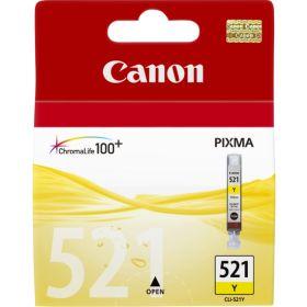 CANON ORIGINAL - Canon CLI-521 jaune Cartouche de marque 2936B001