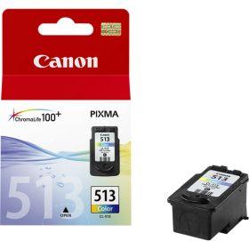 CANON ORIGINAL - Canon CL-513 Couleurs (13 ml) Cartouche de marque