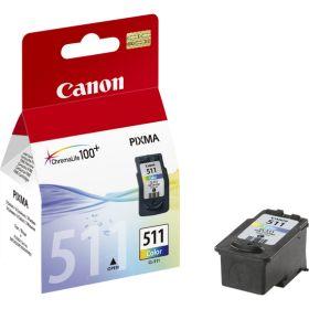 CANON ORIGINAL - Canon CL-511 Couleur (9 ml) Cartouche de marque