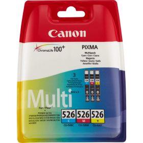 CANON ORIGINAL - Canon CLI-526 Pack Eco de 3 cartouches de marque (Cyan + Magenta + Jaune)