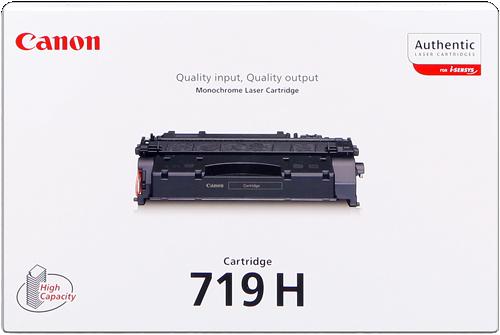 CANON ORIGINAL - Canon 719H Noir (6400 pages) Toner de marque