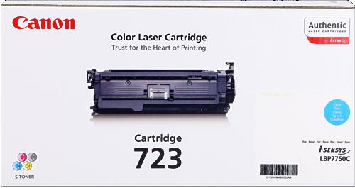 CANON ORIGINAL - Canon 723 Cyan (8500 pages) Toner de marque