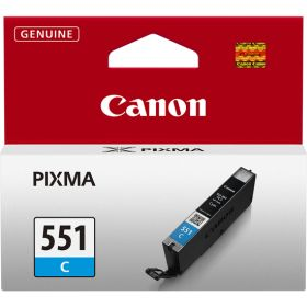 CANON ORIGINAL - Canon CLI-551 cyan (7 ml) Cartouche de marque 6509B001