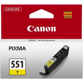 CANON ORIGINAL - Canon CLI-551 jaune (7 ml) Cartouche de marque 6511B001