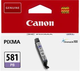 CANON ORIGINAL - Canon CLI-581 Photo Bleu (5,6ml) Cartouche de marque