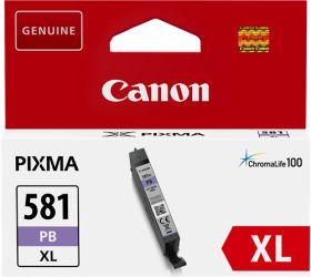 CANON ORIGINAL - Canon CLI-581XL Photo Bleu (8,3ml) Cartouche de marque