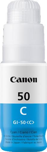 CANON ORIGINAL - Canon GI-50C cyan Cartouche de marque 3403C001