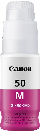 CANON ORIGINAL - Canon GI-50M magenta Cartouche de marque 3404C001