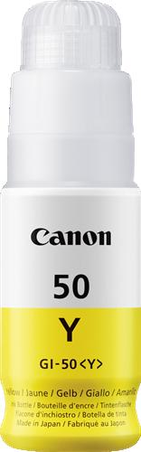 CANON ORIGINAL - Canon GI-50Y jaune Cartouche de marque 3405C001