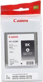 CANON ORIGINAL - Canon PFI-102 Noir (130 ml) Cartouche de marque