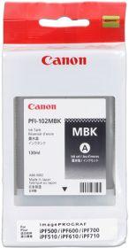 CANON ORIGINAL - Canon PFI-102 Noir Mat (130 ml) Cartouche de marque
