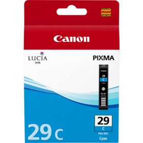 CANON ORIGINAL - Canon PGI-29C Cyan Cartouche de marque