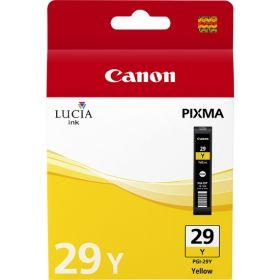 CANON ORIGINAL - Canon PGI-29Y Jaune Cartouche de marque