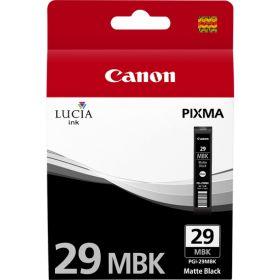 CANON ORIGINAL - Canon PGI-29MBK Noir mat Cartouche de marque