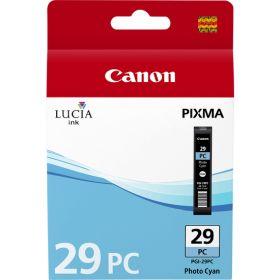 CANON ORIGINAL - Canon PGI-29PC photo Cyan Cartouche de marque