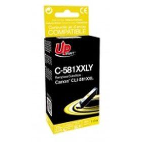 PREMIUM - UPrint CLI-581XXL jaune Cartouche compatible Canon Qualité Premium